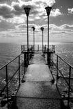 Pier des Tages. Lizenzfreies Stockbild