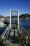 Pier Doorway Royalty Free Stock Photography