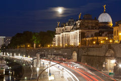 Pier of Dresden Royalty Free Stock Photography