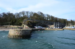 Pier at Dysart Harbour Stock Image