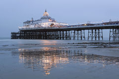 Pier in Eastbourne. Victorian pier in Eastbourne, UK stock images