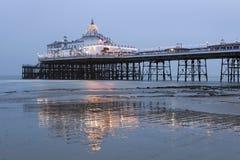 Pier in Eastbourne. Victorian pier in Eastbourne, UK Stock Images