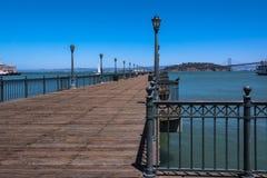 Pier extending towards the ocean, San Francisco Royalty Free Stock Photography