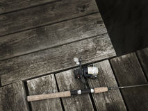 Pier Fishing Stock Images