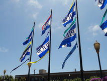 Pier 39 Flags Stock Photography