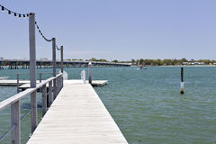 Pier and Floating Dock Stock Images