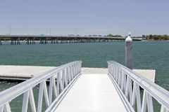 Pier and Floating Dock Stock Photos