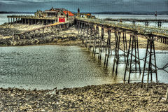 Pier Full royalty-vrije stock foto