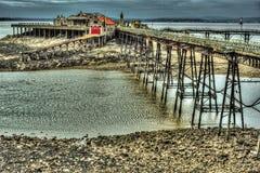 Pier Full Lizenzfreies Stockfoto