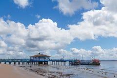 Pier on Gamboa, Bahia Royalty Free Stock Photography