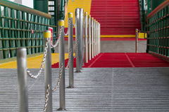 Pier Gate Stock Foto