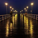 Pier in Gdansk Royalty Free Stock Photo