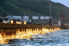 Pier of Getxo Stock Photos
