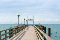 Pier in Graal-Mueritz Royalty Free Stock Photo