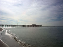 Pier on Gulf Coast Royalty Free Stock Photography