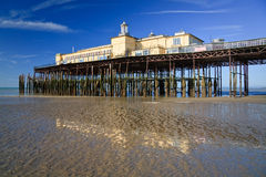 Pier in Hastings, UK. Royalty Free Stock Image