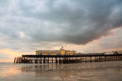 Pier in Hastings, UK. Stock Photography