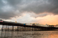 Pier in Hastings, UK. Royalty Free Stock Images