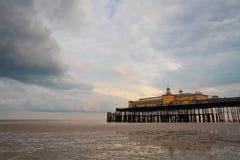 Pier in Hastings, UK. Royalty Free Stock Photo