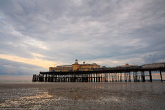 Pier in Hastings, UK. Stock Photo