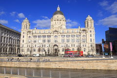 Pier Head Building Royalty Free Stock Photography