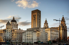 Pier Head, Liverpool Royalty Free Stock Photo