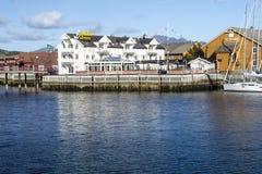 Pier of Heninsbaerg Royalty Free Stock Photos