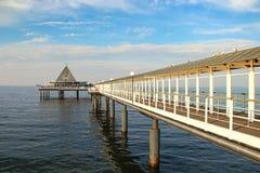 Pier in Heringsdorf, Germany Royalty Free Stock Photo