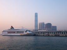 Pier in Hong Kong Stock Photo