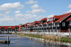 Pier houses Royalty Free Stock Photography