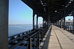 The pier of Huelva Stock Photos