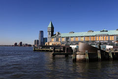 Pier A im Batterie-Park Lizenzfreies Stockfoto
