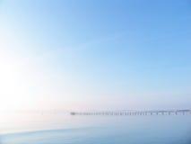 Pier im Paradies Lizenzfreies Stockbild