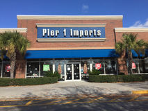 Pier 1 Imports store Stock Image