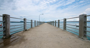 Pier In Thailand Royalty Free Stock Image