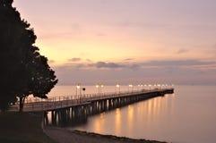 Free Pier In Warm Morning Light Royalty Free Stock Photos - 125921148