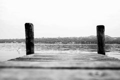 Pier in Italy Royalty Free Stock Photography