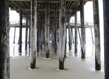 Pier in Kalifornien Lizenzfreie Stockbilder