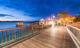 Pier of Keys Islands, Florida Royalty Free Stock Photos