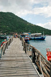 Pier Koh Nang Yuan Stock Photography