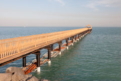 Pier in Kuwait Royalty Free Stock Image
