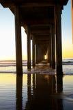 Pier in La Jolla, CA Stock Photos