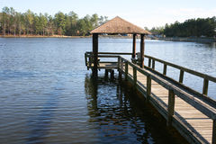 Pier On The Lake Royalty Free Stock Image