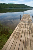 Pier on Lake 3510 Stock Photography