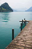 Pier by the Lake Royalty Free Stock Images