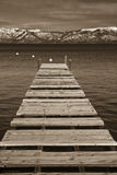 Pier, Lake Tahoe Stock Photo