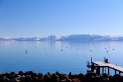 Pier at Lake Tahoe Stock Photography