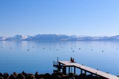 Pier at Lake Tahoe Stock Image