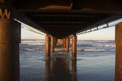 Pier Lido di Camaiore Stock Photos