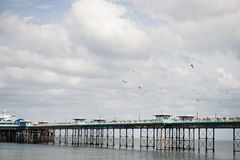 Pier of Llandudno North Wales, England, UK Royalty Free Stock Photos